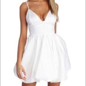 Brand new Cream Bow Bubble Dress!
